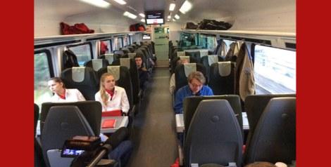 قطار Literatur im Zug