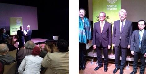 سفير ألمانيا يسلم الجوائز